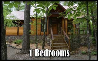 Beavers Bend Romantic 1 Bedroom Cabins with Hot Tubs near Broken Bow Lake