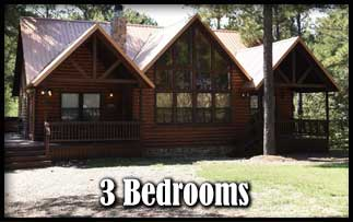 Pet Friendly 3 Bedroom Cabins near Beavers Bend State Park