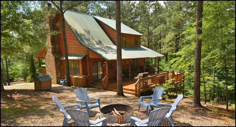 Seven Feathers Lodge, A Cabin rental in Beavers Bend State Park