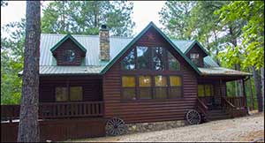 Texas Two-Step Cabin
